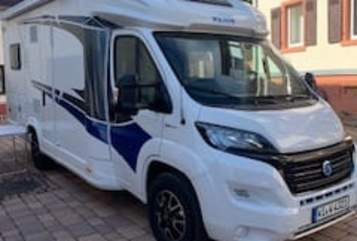 Hire a motorhome in Wiesbaden from private owners  Knaus Wavelinger