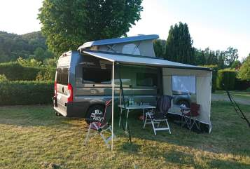 Hire a motorhome in Alsfeld from private owners| Pössl  Bluey