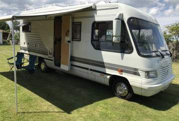 Hire a motorhome in Reichelsheim from private owners| RMB Landyacht RMB