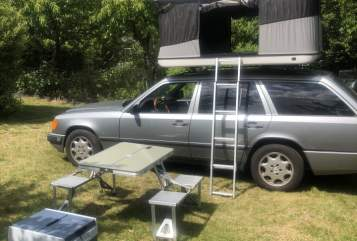 Hire a motorhome in Berlin from private owners  Mercedes Benz  Strolch