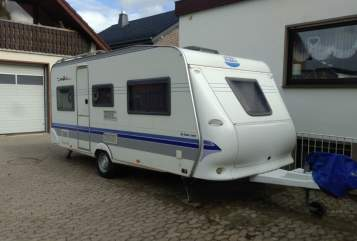 Hire a motorhome in Augustdorf from private owners  Hobby Hobby 495 de luxe easy K542