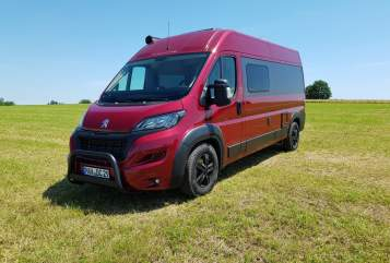 Hire a motorhome in Triftern from private owners| Tourne Lagertha