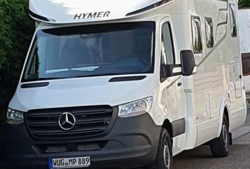 Hire a motorhome in Treuchtlingen from private owners| Hymer Tramp