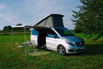 Hire a motorhome in Offenburg from private owners| Mercedes Marco Polo