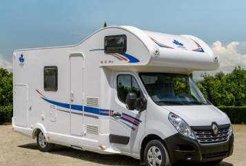 Hire a motorhome in Klipphausen from private owners| Ahorn Camp 683 ECO mit Klima Domino-6 Gurte