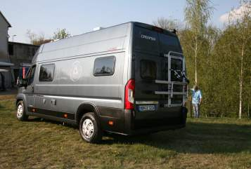 Hire a motorhome in Müglitztal from private owners| Fiat Ducato HBN-E1216