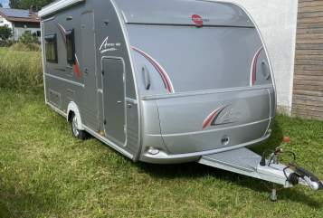 Hire a motorhome in Schwabbruck from private owners  Bürstner Averso 1