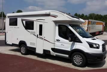 Hire a motorhome in Gundelfingen from private owners| Autoroller Känguru