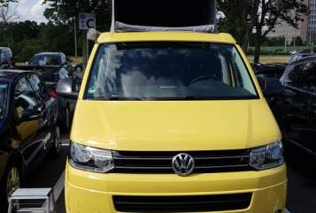 Hire a motorhome in Wolfsburg from private owners| Volkswagen Bienchen