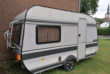 Hire a motorhome in Dortmund from private owners| Hobby Muck