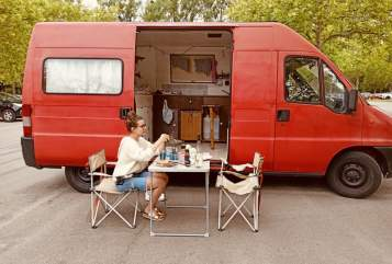 Hire a motorhome in Würzburg from private owners| Fiat Fridolin