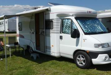 Hire a motorhome in Lüdenscheid from private owners  LMC Liberty