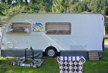 Hire a motorhome in Mühlacker from private owners  Knaus Wohni Knaus Südwind