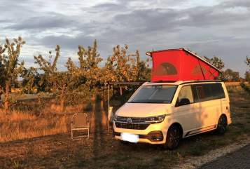 Hire a motorhome in Buchholz in der Nordheide from private owners| VW T 6.1 Beach Else 6.1