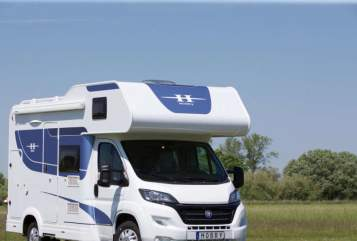 Hire a motorhome in Siegen from private owners  Hobby Samweis