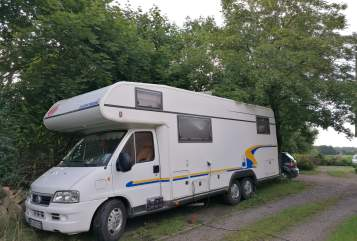Hire a motorhome in Talkau from private owners  Fiat  modellbautalkau