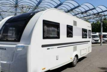 Hire a motorhome in Quarnbek from private owners| Adria  Sprotte