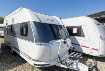 Hire a motorhome in Aichach from private owners| Hobby  Glücksmobil