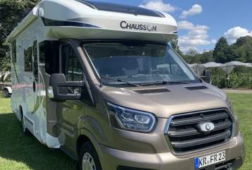 Hire a motorhome in Krefeld from private owners  Chausson Frieda