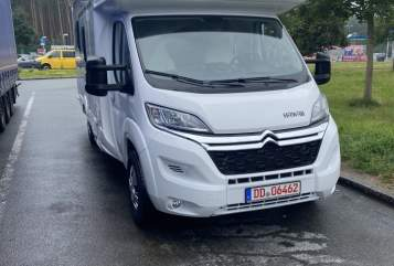 Hire a motorhome in Freital from private owners| Citroen Carl 38