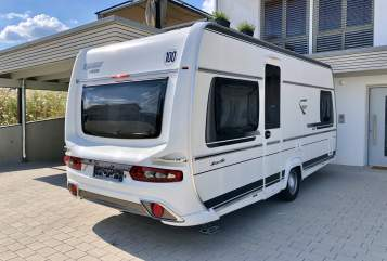 Hire a motorhome in Ilsfeld from private owners  Fendt Schwalbennest