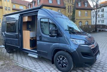 Hire a motorhome in Weimar from private owners| Pössl Vanfred-Pössl