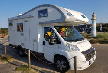 Hire a motorhome in Nörvenich from private owners  Fiat Kolumbus