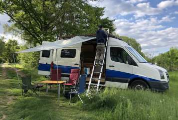 Hire a motorhome in Kassel from private owners| VW Pippi