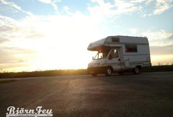 Hire a motorhome in Würselen from private owners| Eura Mobil World Wide WoMo - Autark und Winterfest -