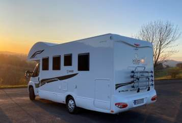 Hire a motorhome in Ebersburg from private owners  Fiat Ducato Wickie
