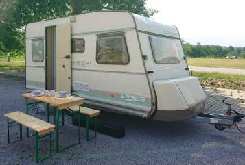 Hire a motorhome in Durbach from private owners| Caravelair Bamba