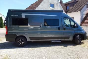 Hire a motorhome in Schrobenhausen from private owners| Pössl Summit 600 Plus Neptun