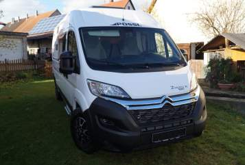 Hire a motorhome in Ehingen from private owners| Pössl 2er Flitzer