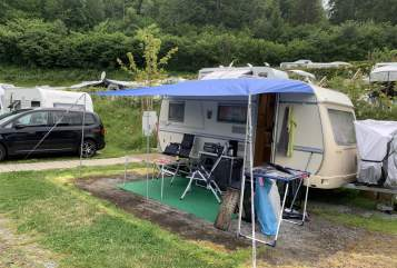 Hire a motorhome in Südeichsfeld from private owners| Tabbert Tom