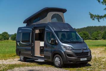 Hire a motorhome in Ehingen from private owners| Pössl 4er Flitzer