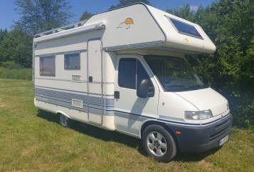 Hire a motorhome in Nürtingen from private owners| Fiat Ducato DRAKUS