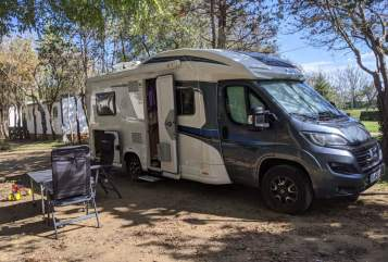 Hire a motorhome in Kirchberg an der Iller from private owners| Knaus Knausinger