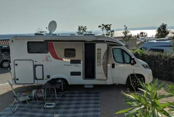 Hire a motorhome in Bremen from private owners| Bürstner Travel Van