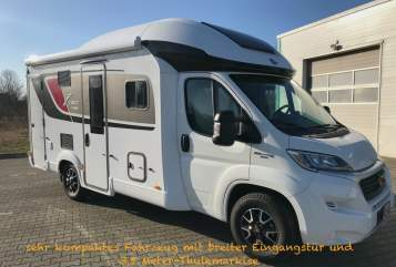 Hire a motorhome in Hoppegarten from private owners| Bürstner Eddy
