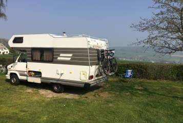 Hire a motorhome in Didam from private owners| Fiat Hymer