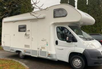 Hire a motorhome in Kissing from private owners| Fiat Ducato 2.2 Alkoven Baron46