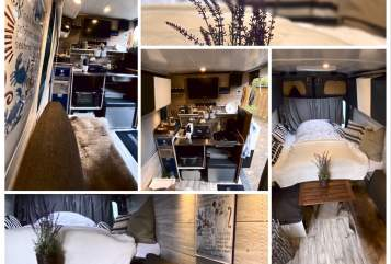 Hire a motorhome in Bad Vilbel from private owners| Mercedes Benz Nightliner