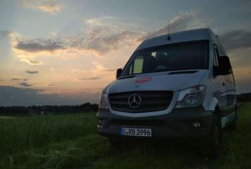 Hire a motorhome in Radolfzell am Bodensee from private owners| Mercedes-Benz Der Putzdienst