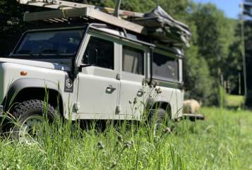 Hire a motorhome in Hauroth from private owners  Land Rover Landy-Fendy