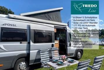 Hire a motorhome in Konstanz from private owners| Pössl Friedo (autark)