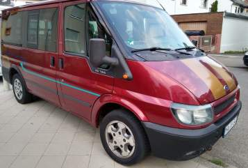 Hire a motorhome in Mannheim from private owners| Ford Transit  Dunja-Mobil