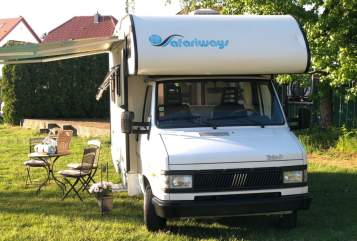 Hire a motorhome in Neunkirchen from private owners  Fiat Ducato  Horst