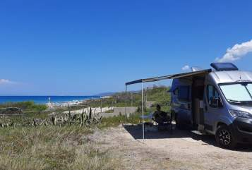 Hire a motorhome in Hamburg from private owners  Pössl Nis