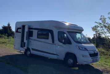 Hire a motorhome in Satteldorf from private owners  Hobby Optima Ontour  Snorri