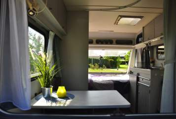 Hire a motorhome in Dedemsvaart from private owners  Delta Home from home
